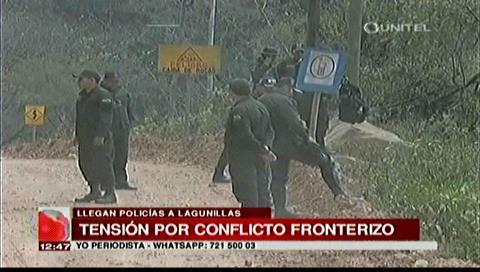140 policías llegan a Lagunillas para prevenir enfrentamientos por Incahuasi
