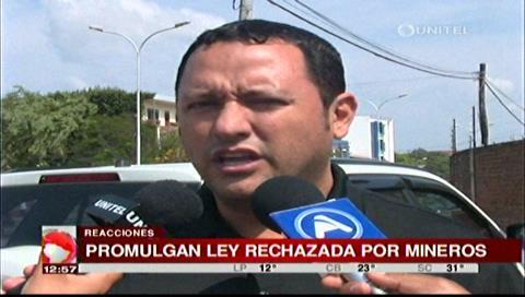 Diputado Dorado ve como provocación de Evo la aprobación de la Ley de Cooperativas