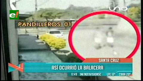 Video de la balacera donde murió el pasajero del micro