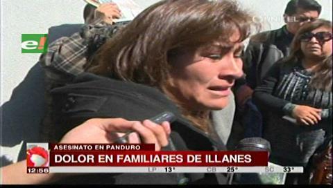 La Paz: Familia de Illanes expresa su dolor y ve que hubo poco resguardo