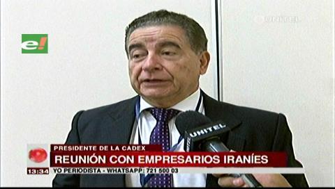 La Cadex destaca la importancia de exportar comercio a Irán