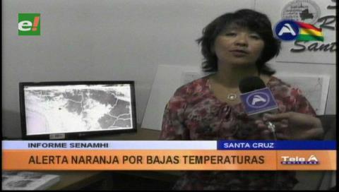 Alerta naranja por un descenso de temperatura