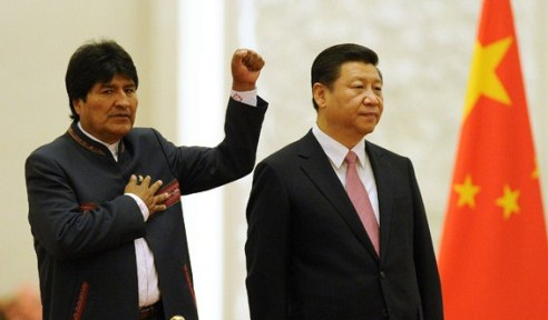 CHINA-BOLIVIA-DIPLOMACY