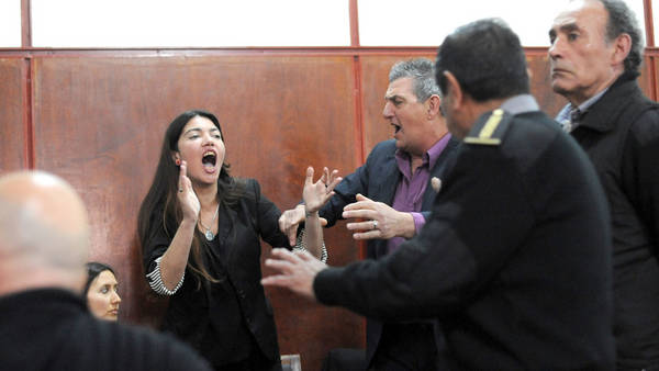 La justicia platense condenó al disc jockey Jorge Cristian Martínez Poch a 37 años de prisión. (Mauricio Nievas)