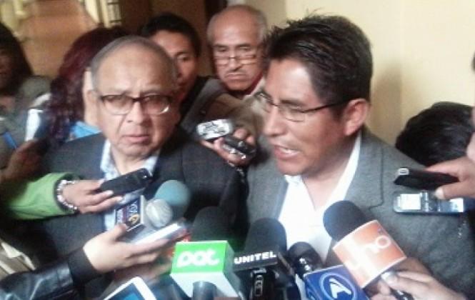 Gobernador Patzi destaca decisión de prohibir el uso de dinamita en protestas
