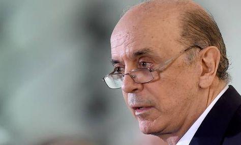 Jose Serra, canciller de Brasil. Foto: AFP