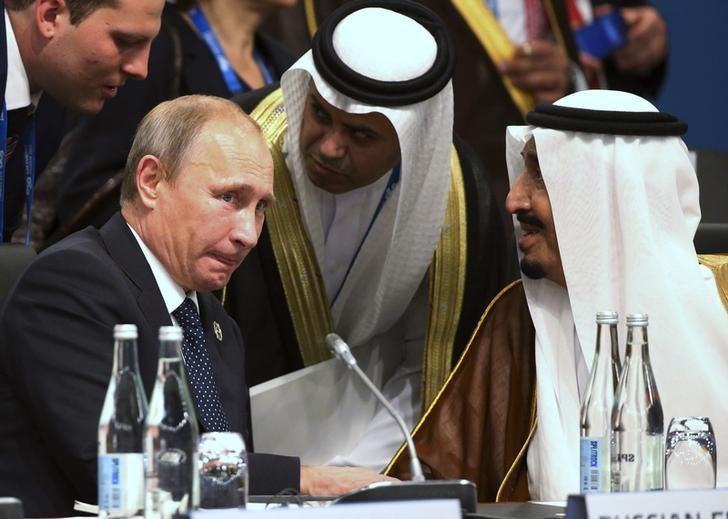 Resultado de imagen para Los precios del petróleo suben tras el llamado a la cooperación por parte de Rusia y Arabia Saudita
