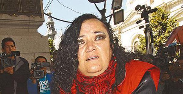 María Galindo, de Mujeres Creando, pide debatir con Ribera