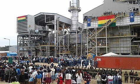 La Planta de Amoniaco y Urea ubicada en la municiplidad de Entre Rios, provincia Carrasco del departamento de Cochabamba.