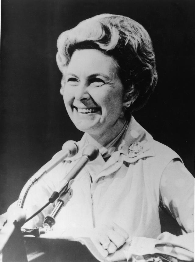 Phyllis Schlafly en 1982.