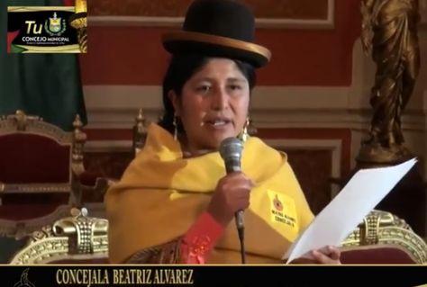 La concejala Beatriz Álvarez ejercerá como alcaldesa interina durante una semana.
