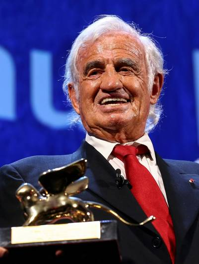 Jean-Paul Belmondo homenajeado. (REUTERS)