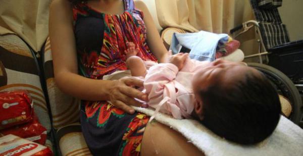 La bebé María Milagros está en poder de las autoridades del menor que decidirán su suerte