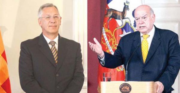 Es la segunda vez que ambos representantes de Bolivia y Chile se reunieron entorno a la causa marítima.