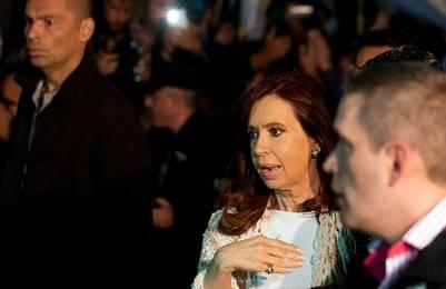Cristina Kirchner será indagada el 20 de octubre por el juez Ercolini. Foto Reuter.