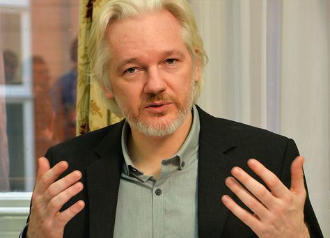 Julian Assange. Foto: AFP