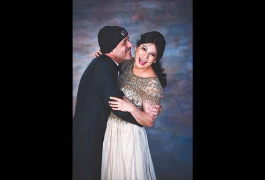 """Fabio Zambrana y Fabiola Bruno . Se conocieron en 1983 y se casaron por segunda vez en 2013 (Foto). """"Si existiera una fórmula o clave para la relación sería el equilibrio y darme cuenta de que mi esposa tiene todo el derecho de pensar diferente a mí y yo"""