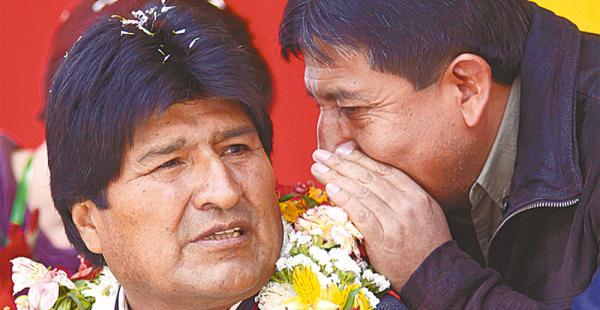 El canciller David Choquehuanca dijo ayer que la reelección de Evo Morales está en manos del pueblo