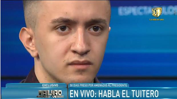 El joven que amenazó a Macri, arrepentido