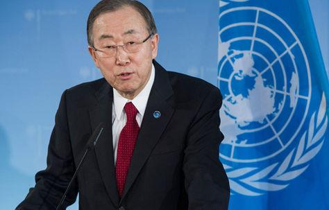 El secretario general de la ONU, Ban Ki-moon. Foto: aujourdhui.ma