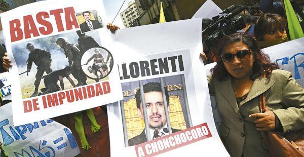 Víctimas de la represión de Chaparina acusan al exministro Llorenti