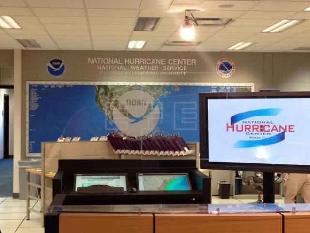 La probabilidad de formación de ciclón tropical durante las próximas 48 horas es de un 80 por ciento y de un 90 en los siguientes cinco días, informó el NHC. EFE/Archivo