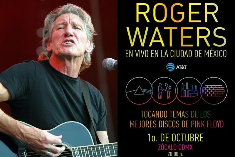 Waters tocará gratis en el corazón de la Ciudad de México