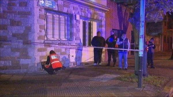 Guillermo Tarrio fue asesinado por motochorros a media cuadra de su casa, en Barracas. (Captura de TV)