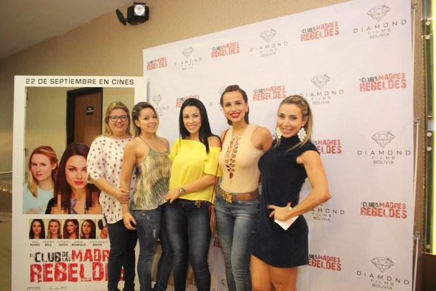 untas y divertidas-Dica Rodríguez, Carlita Rodríguez Da Silva, Gigliola Montenegro, Noelia Rau y Laura Donoso