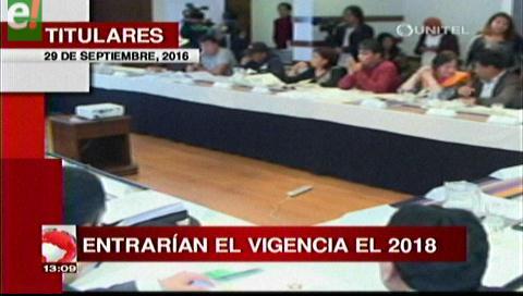 Titulares de TV: CNA decidió adelantar los plazos para el pacto fiscal