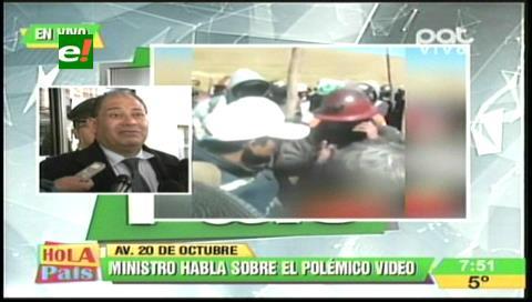 Gobierno pide a cooperativistas entregar a responsables de la muerte de viceministro para restituir el diálogo