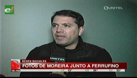 """Ex concejal Roca pide investigar la """"relación de amistad"""" entre Moreira y Ferrufino"""