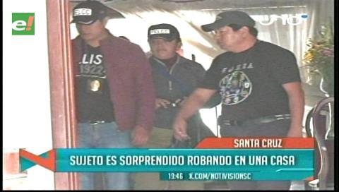 Vecinos capturan a ladrón que afirma ser un militar