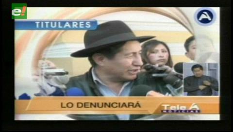 Titulares de TV: Diputado Quispe denuncia irregularidades en la libreta de servicio militar del ministro de Defensa