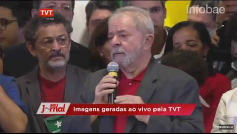 Lula da Silva entre lagrimas: Prueben que soy corrupto e iré caminando a la cárcel