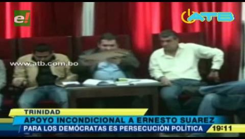 Partido Demócrata apoya a Suárez ante nuevo proceso iniciado