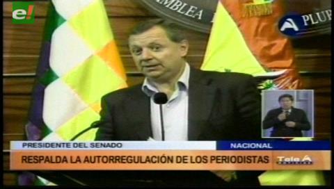 """""""Gringo"""" Gonzales rechaza """"intentos de penalizar la tarea de los periodistas"""""""