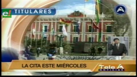 Titulares de TV: Gobierno convoca al diálogo a la COB, analizarán el pliego petitorio nacional