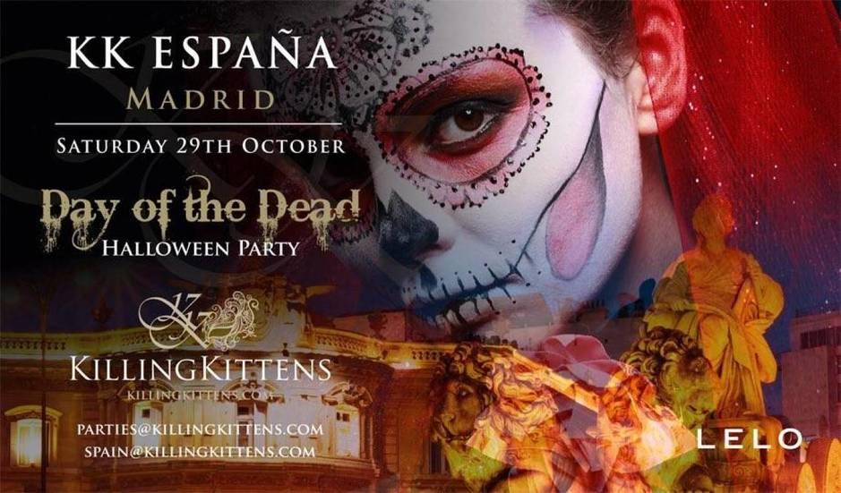 Cartel de la próxima cita organizada en Madrid el 29 de octubre.