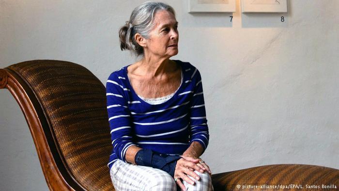 Mexiko Barbara McClatchie Andrews in Mexiko-Stadt (picture-alliance/dpa/EPA/L. Santos Bonilla)