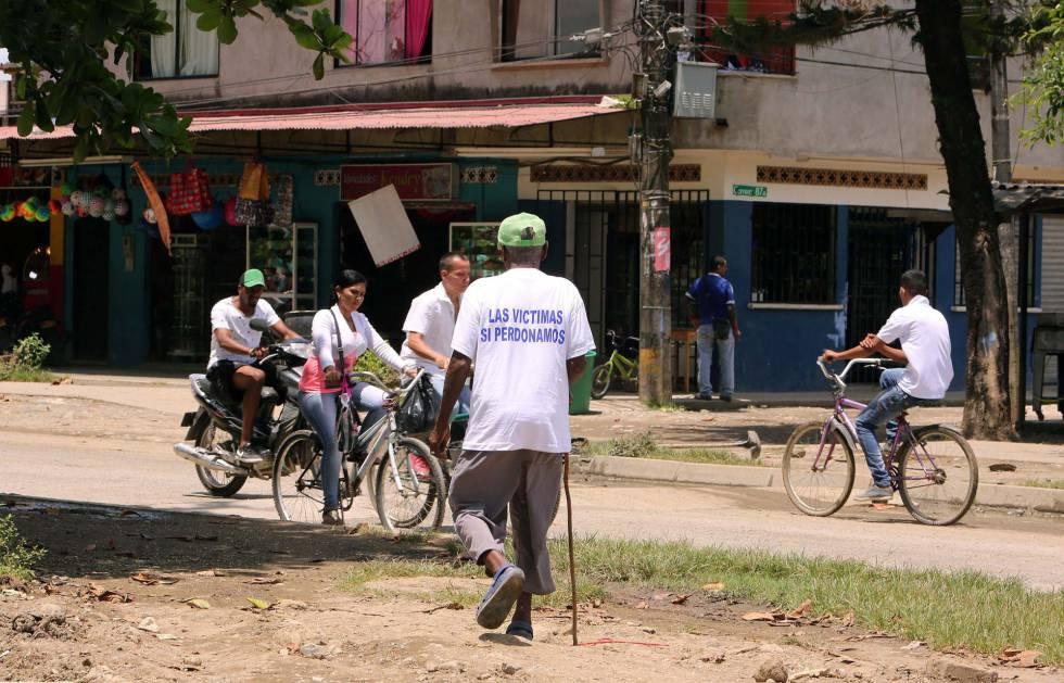 Vista del barrio La Chinita, en Apartadó, donde las FARC pidieron perdón el pasado viernes por una masacre.