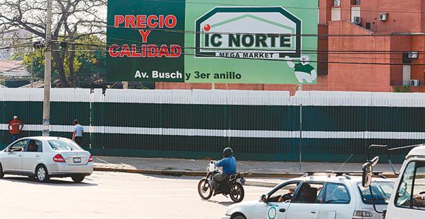 Los colores de IC Norte están en los terrenos del sur de la ciudad. Busca competir con las otras cadenas