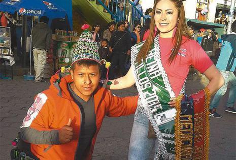 carismático. En 2015 bailó tinkus con la Fraternidad Tinku  Tolkas Huachacalla; es famoso por su alegre baile
