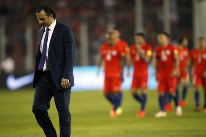 Chile no pudo ganar a Bolivia en su casa. Ahora no podrán volver al estadio Nacional de Santiago. Foto: Archivo/EFE