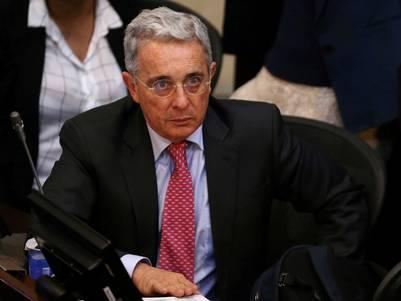 El ex presidente, y actual senador, Alvaro Uribe, volvió a tener protagonismo tras el plebiscito por la paz en Colombia. (Reuters)