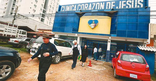 La clínica Corazón de Jesús está ubicada en la av. 2 de Agosto, entre sexto y séptimo anillo