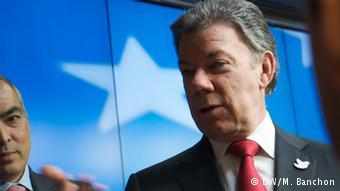 Juan Manuel Santos (DW/M. Banchon)