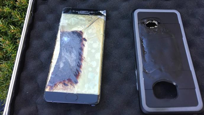 Explota un tercer Note 7 reparado y Samsung sigue sin dar explicaciones