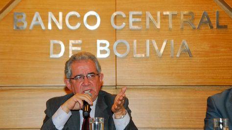 Marcelo Zabalaga, presidente del BCB