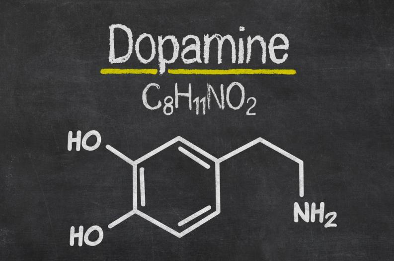 Molecula de Dopamina